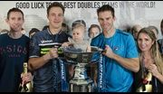 Henri Kontinen and John Peers retained their title at the Nitto ATP Finals with a victory over Lukasz Kubot and Marcelo Melo.
