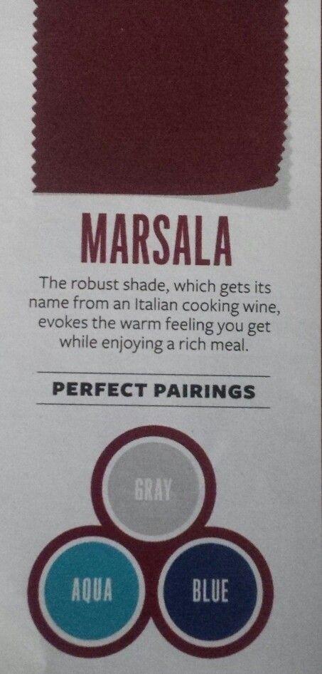 InStyle Magazine   April 2015   Marsala