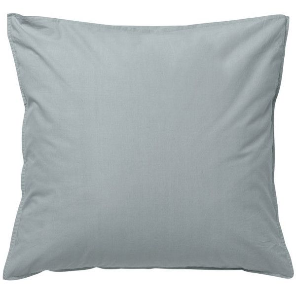 Hush Pillowcase in Dusty Blue design by Ferm Living ($19) ❤ liked on Polyvore featuring home, bed & bath, bedding, bed sheets, pillows, contemporary bedding and ferm living