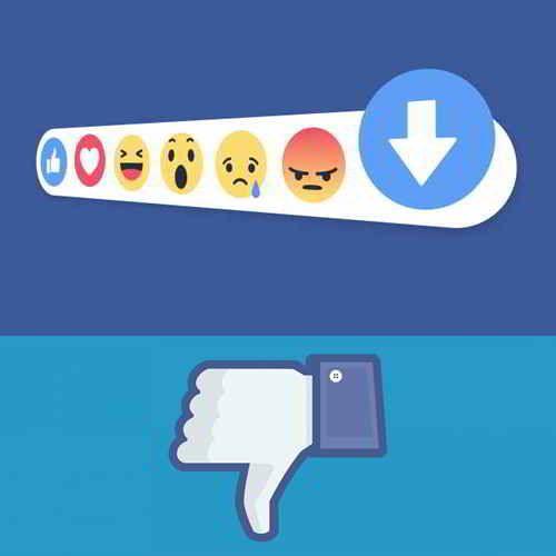 #Facebook testeză un nou buton: Downvote. Nu este Dislike, dar este pe aproape. Citește articolul pentru a afla ce face acest buton.  #DigitalSuperhero