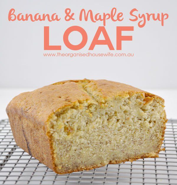 {The-Organised-Housewife}-Banana-and-Maple-Syrup-Loaf