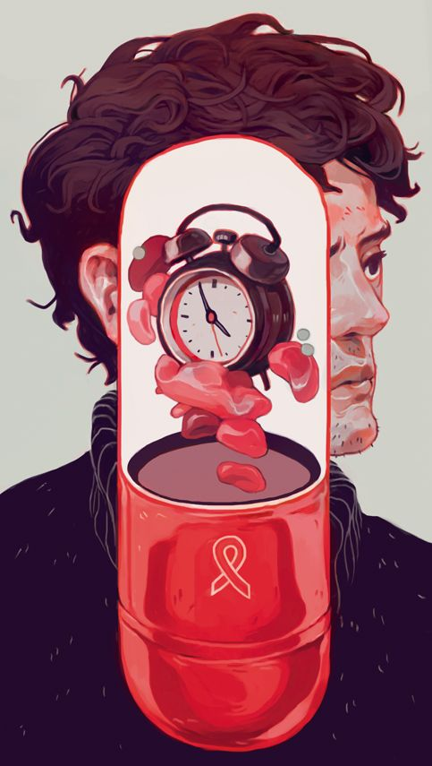 'The Real Cure For AIDS' for The New Republic For an article about curing AIDS, arguing that the cure might not necessarily be the 'what' but 'when'. The cure is in the time. Check out the article...