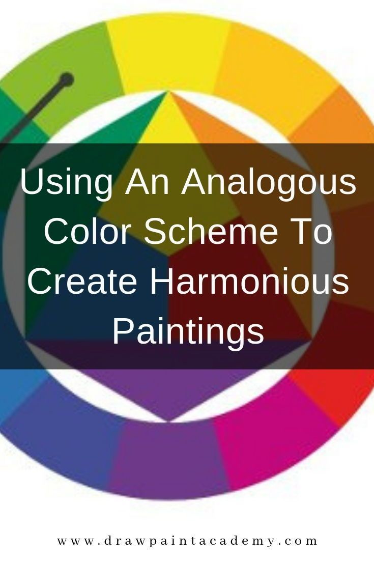 Using An Analogous Color Scheme To Create Harmonious Paintings