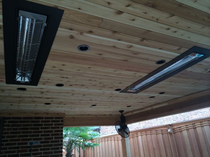 Dallas Outdoor Heater Installation   Electrical Infratech Heaters