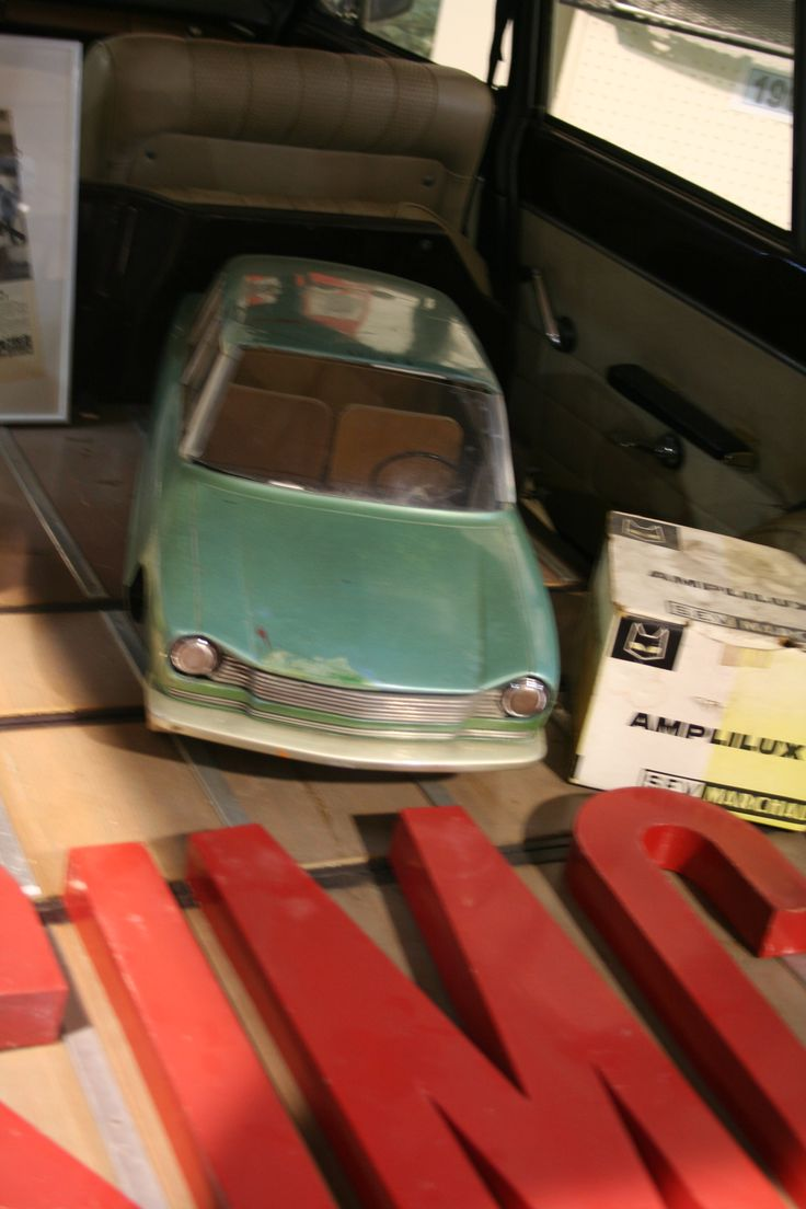 OG   1963 Simca 1300/1500   Scale mock-up © Olivier Guin