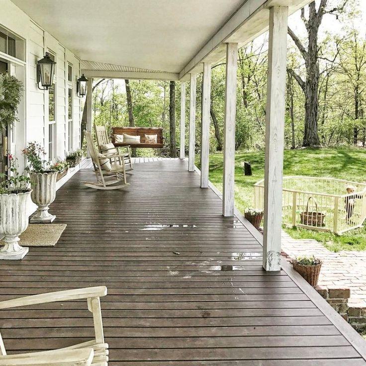 65 Best Farmhouse Front Porch Remodel Ideas