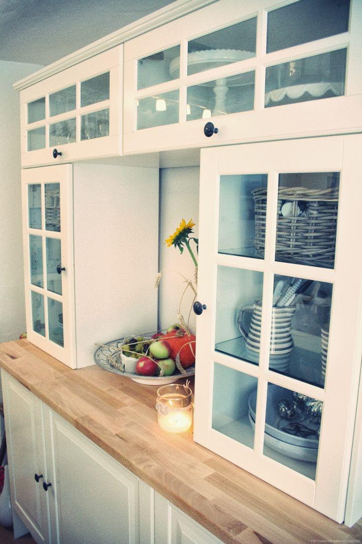 die 33 besten bilder zu küche auf pinterest | bauernküchen ... - Offene Küche Ikea
