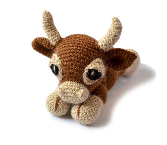 Cow Amigurumi Crochet Pattern PDF Instant Download - Clementine