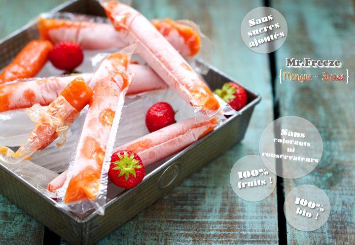 Mr Freeze { mangue / fraise }