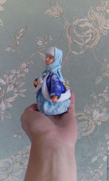 Коллекционные куклы ручной работы. Заказать Снегурочка.Елочное украшение из…