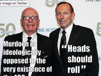 Abbott's blatant overreach in issuing an ultimatum that Q&A come under control of ABC news is having repercussions even from blue ribbon liberal supporters. It has also provided an unexpected pla... https://independentaustralia.net/politics/politics-display/abbotts-overreach-on-abc-could-lose-him-votes,7944