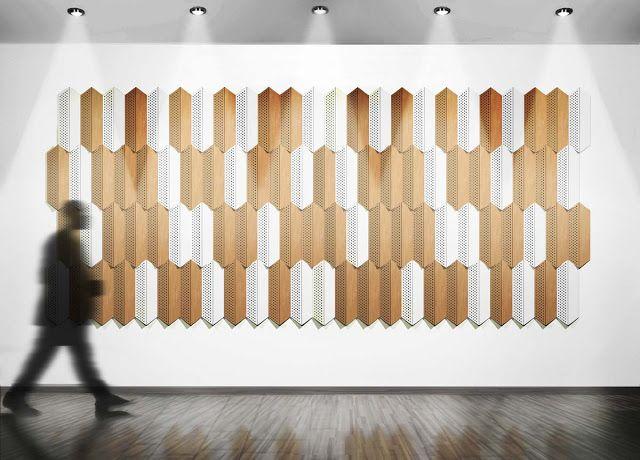 Les 11 meilleures images du tableau claustra acoustique et - Revetement mural acoustique absorption ...