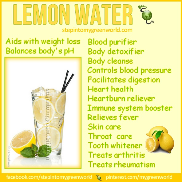 .In 1 cup of warm water add the juice of 1/2 of an organic