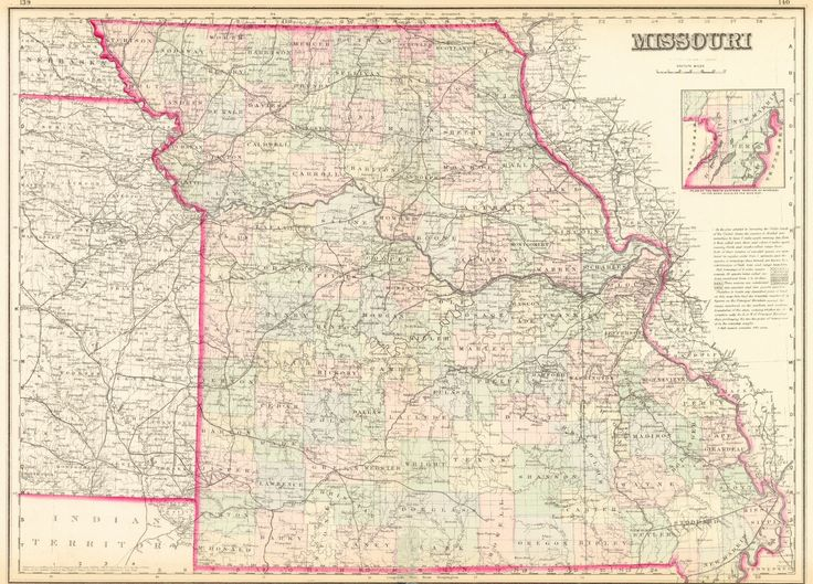 18 best Missouri images on Pinterest Missouri Maps and