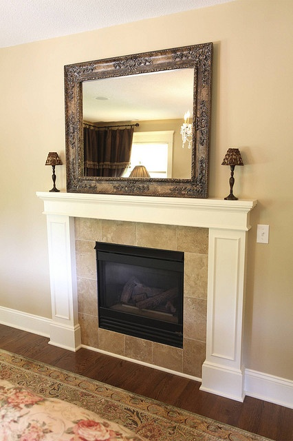 1000 images about tile around fireplace on pinterest for 2 way fireplace