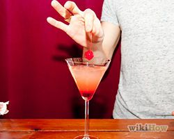 Cherry vodka sour How-To