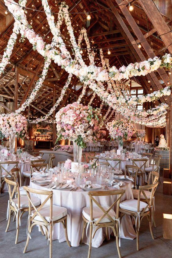 49 Stunningly Beautiful Decor Ideas For The Most Breathtaking Indoor Wedding Beautiful Breathtakin Indoor Wedding Elegant Wedding Reception Beautiful Decor