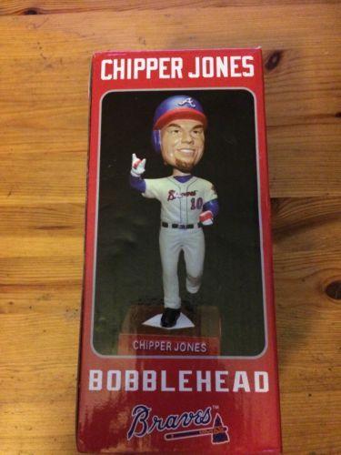 NIB Chipper Jones Atlanta Braves Bobblehead Turner Field Limited Edition 2012