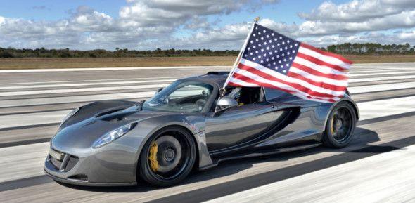Le 5 auto più veloci al mondo