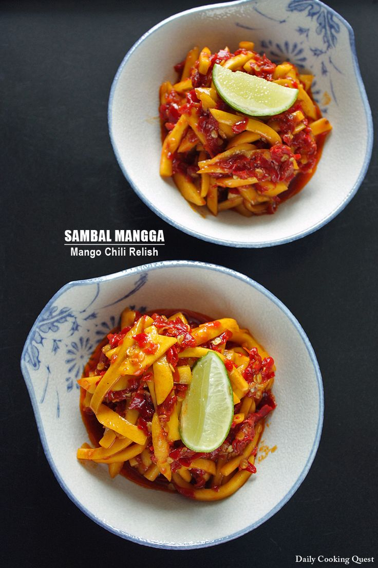 Sambal mangga goes perfectly with grilled dishes, especially grilled seafood dishes like fish and shrimp. Using slightly underripe mango is best since the slight sourness in the mango makes this a truly refreshing sambal. If you need to amp up the sourness a notch or two, feel free to add some freshly squeeze lime juice …