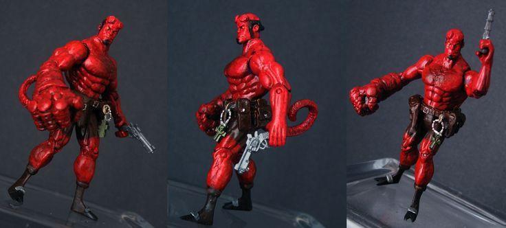 Hellboy (Marvel Universe) Custom Action Figure
