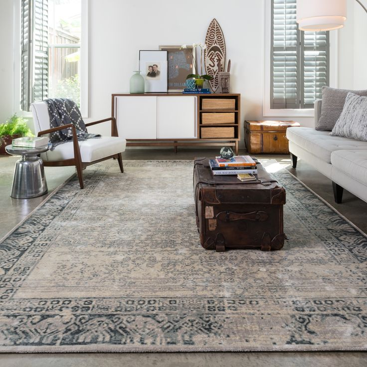 Francis Ivory/ Charcoal Rug X   Overstock™ Shopping   Great Deals On  Alexander Home   Rugs