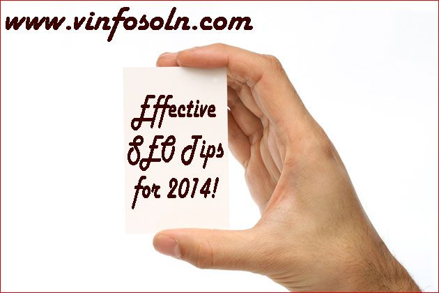 Effective SEO Tips for 2014!