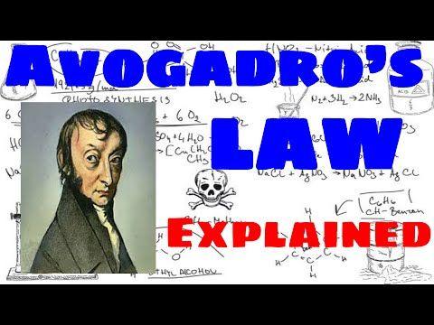 Avogadro's Law Explained