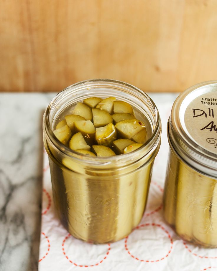 How To Make Dill Pickles — Cooking Lessons from The Kitchn