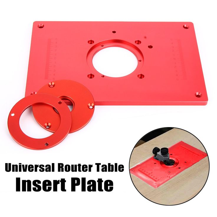 The 25 best router table insert ideas on pinterest diy router 200x300x10mm high quality universal router table insert plate aluminium alloy for diy woodworking engraving machine greentooth