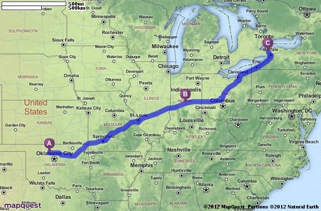 Driving Directions From New York City To Niagara Falls