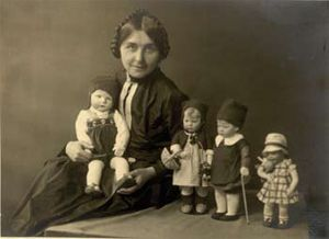 Kathe Kruse and her doll children! So many women were responsible for the continuation of doll manufacturing throughout history, so inspiring!