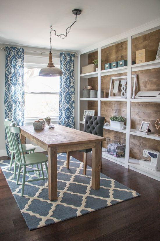 One Room Challenge Favorites  Fall 2016. Best 25  Dining room office ideas on Pinterest   Rustic office