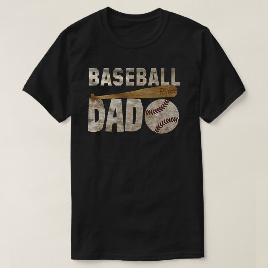 Baseball Dad Custom Shirts