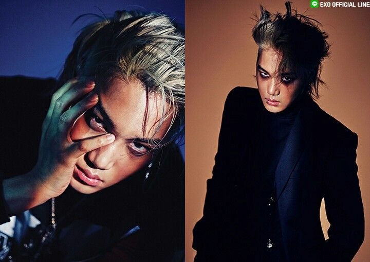 Kai 'monster' #EX'ACT #EXO #MONSTER