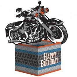 Biker Party Supplies, Biker Party Centerpieces, Biker Decorations