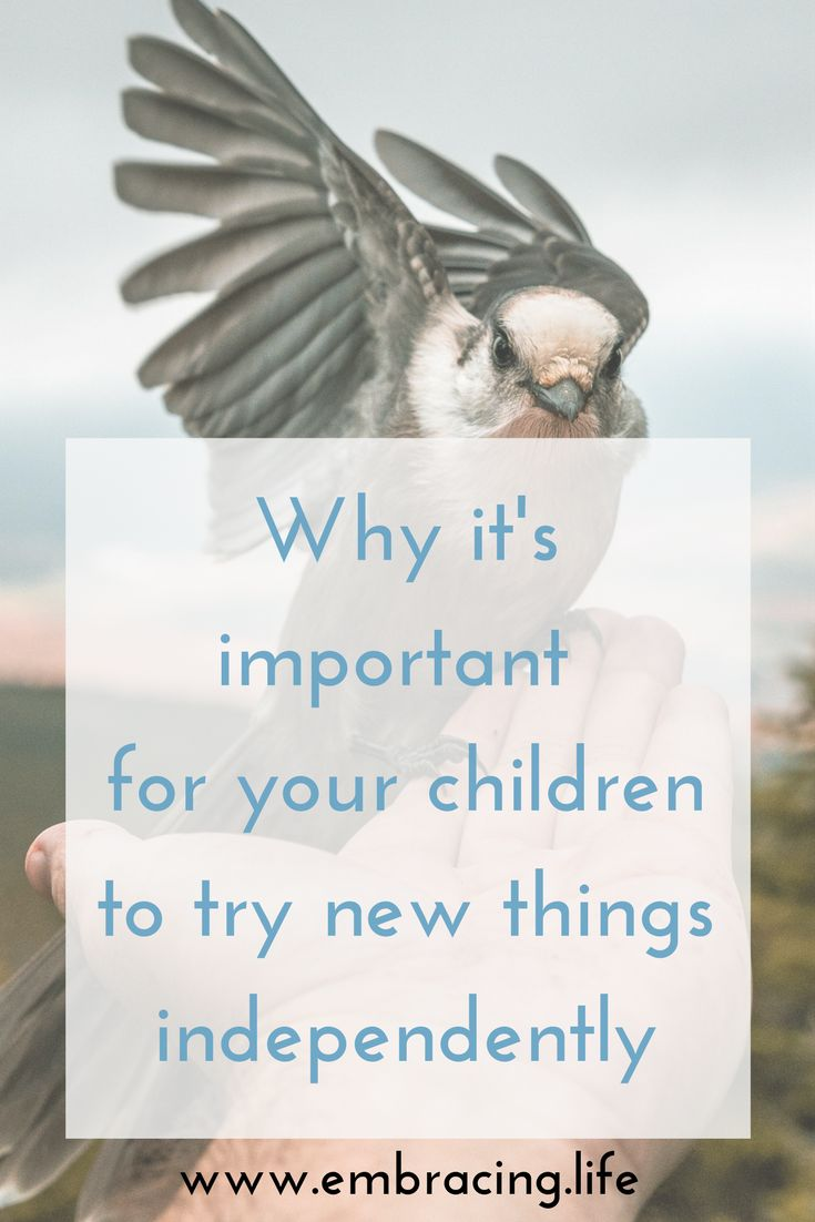 Encouragement for parents to give your children space to try new things. #parenting #momlife #dadlife #specialneedsparenting