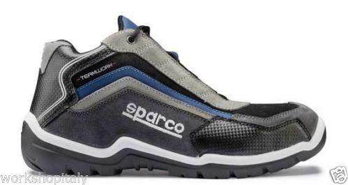 Scarpe Sparco Track Alte Blu, sicurezza sul lavoro!