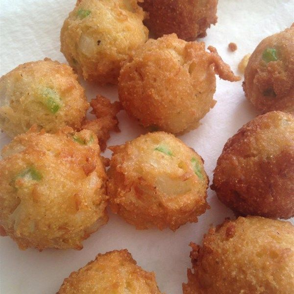 "Vicki's Hush Puppies | ""I used this recipe for the church fish fry and everyone raved over the hush puppies and ask for the recipe."""