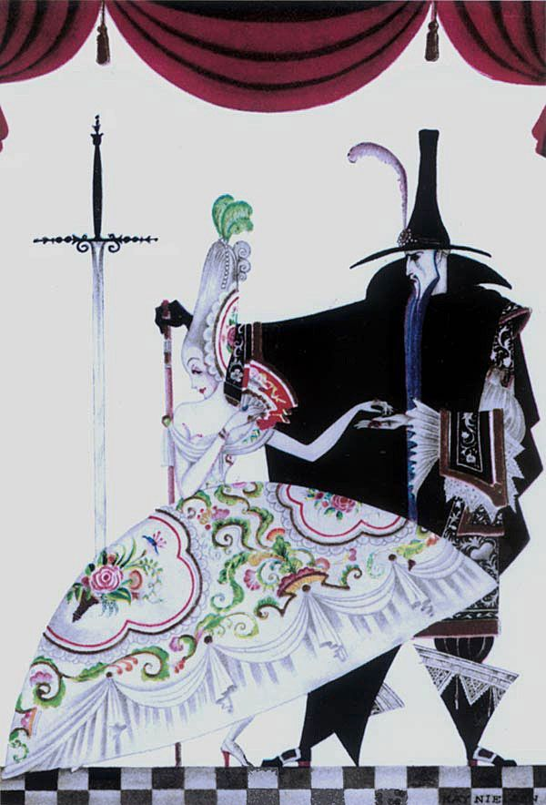 "Kay Nielsen - ""She was forced to produce the key."""