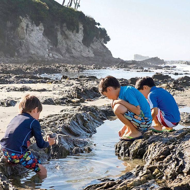 America's Happiest Seaside Towns 2015: Corona del Mar, California. This Orange County enclave with stunning beaches, a village-like shopping district, and row after row of vintage cottages on streets named for flowers has always maintained a charmingly quiet sense of self as the quaint yet stylish cousin to neighboring Newport Beach. Photo: Thomas J. Story. Coastalliving.com