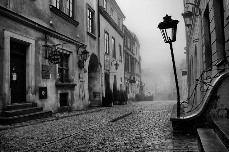 Jan Bułhak. Enchanted Lublin in the fog