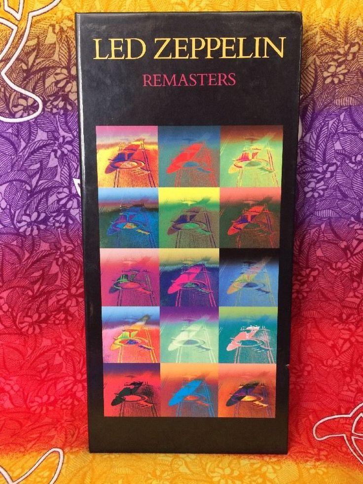 Led Zeppelin Remasters [Box] by Led Zeppelin (CD, Mar-1992, 3 Discs, Atlantic (L #FolkCountryRock