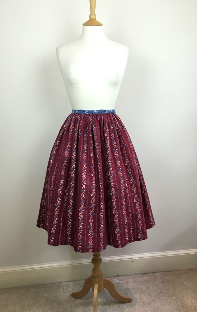 1950s swing skirt size UK 10