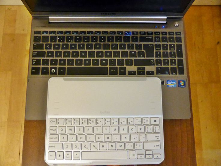 Compare Laptop Keyboard with BELKIN Ultimate Keyboard Case for iPad Air