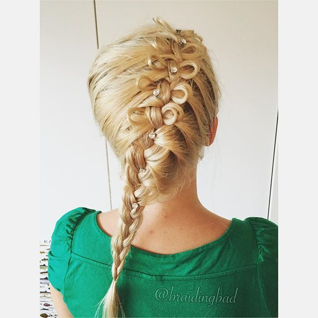 Yesterday I gave a dear friend of mine the gift of a #braid with some bling bling for her birthday celebration  It was a lovely evening! #bowbraid #updo #braids #braiding #braidinghair #braidideas #instabraids #letti #letit #lettikampaus #letitys #hairdo #hairstyle #suomiletit #braidsforgirls #braidsforlittlegirls #rusettiletti #glittersuomi #cghbowbraid #featuremejehat #featuremeisijatytot #tbp1kcontest