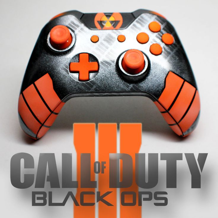 One of a kind BlackOps 3 Custom - Genuine Microsoft Wireless Xbox One Controller #Microsoft