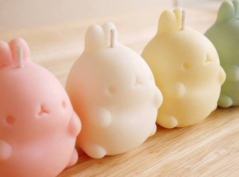 Origin Molang Shop scented candles #bunnies