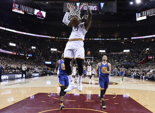 NBA Finals Game 6 Ratings Steady With 2015 As Lebron James & Cavaliers Force Game 7
