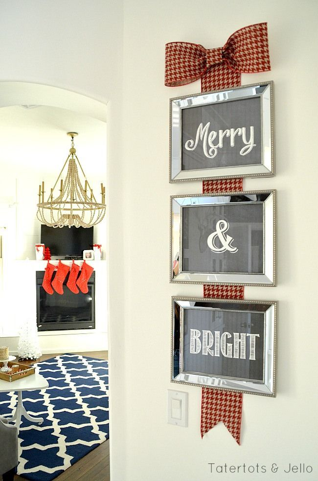 Merry & Bright (FREE Printables)